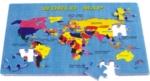 Mapa světa PN200 Eva pěnové puzzle obrázek -