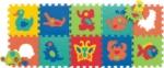 Zvířátka  931N 10 pěnových desek puzzle,  1,2cm síla -
