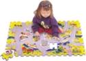 TM 003 Město silnice  pěnové puzzle  54ks -