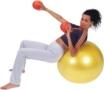 Heavymed 1kg gymnastický medicinball -
