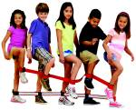 Koordinační pás na nohy -