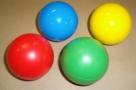 Freeball - 5,5cm malý cvičební míček -