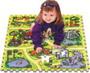 Safari TM02 skládačka puzzle pěnové -