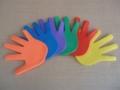 Značka ruka dlaň -