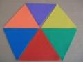 značka trojúhelník -