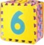 Čísla FM930 0-9 desky puzzle EVA pěna 30x30 , 10ks v sestavě -