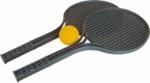 Soft tenis set 2+1 černý -